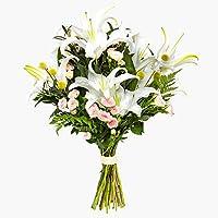 Ramo de flores naturales a domicilio lirios Sevilla - Flores frescas - Envío a domicilio 24h GRATIS - Tarjeta…