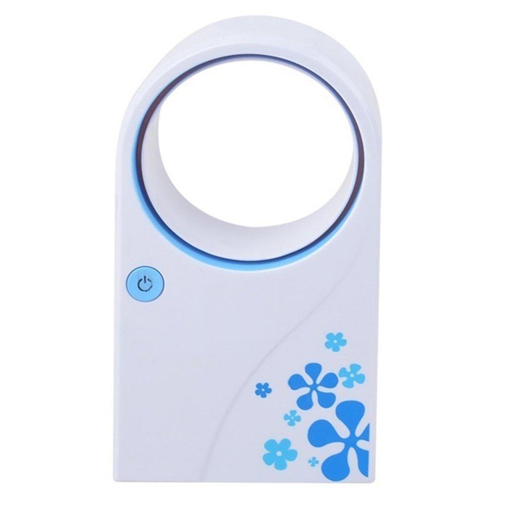 /Ét/é Bureau Accueil Mini Ventilateur De Refroidissement /À Poche Bladeless USB Batterie Climatiseur Portable No Leaf Cooler