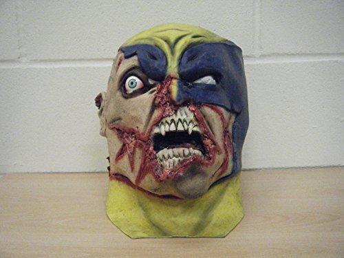 WRESTLING MASKS UK Halloween Adult Latex Wolverine Super Deluxe Halloween Edition Mask -