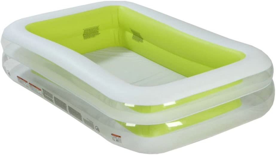 YIWANGO Piscina Inflable PVC Piscina Familiar Pequeña Piscina ...
