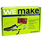 WEmake FM Radio DIY Soldering Kit with Tools   Soldering Iron   Side Cutters   Safety Glasses   Lead Free Solder   Great Stem Project