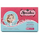 Spoolies Hair Curlers, Shadow Black – 24 Count For Sale
