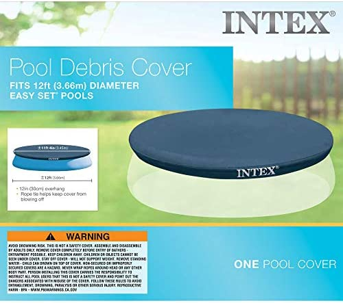 Intex 28022 - Cobertor piscina hinchable Easy Set 366 cm: Amazon ...