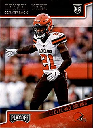 5be789c5c 2018 Panini Playoff #241 Denzel Ward Rookie RC Rookie Cleveland Browns NFL  Football Trading Card