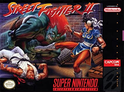 Amazon Com Street Fighter Ii Unknown Video Games