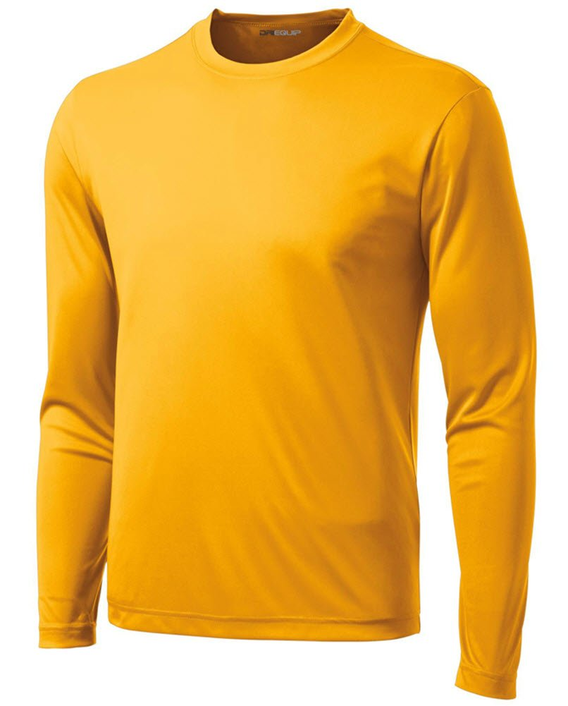 7036f9d925a6 DRI-EQUIP Youth Long Sleeve Moisture Wicking Athletic Shirts. Youth Sizes XS -XL