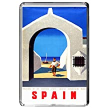 A267 SPAIN FRIDGE MAGNET SPAIN TRAVEL VINTAGE REFRIGERATOR MAGNET