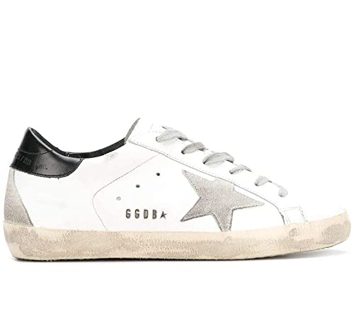 Golden Goose Sneakers Uomo Gcoms590w55 Pelle Bianco  Amazon.it  Scarpe e  borse e13b5e08d02