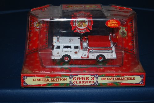 code 3 collectibles fire trucks - 5