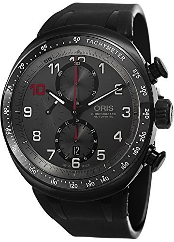 Oris Darryl O Young Limited Edition Grey Dial Black Rubber Mens Watch 774-7611-7784SET