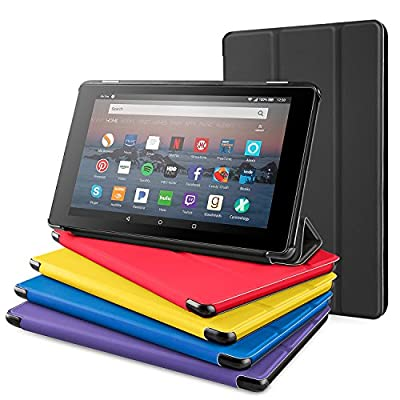 All-New Fire 7 Tablet Case, DTTO Original Color Matches Ultra Slim Lightweight Case for All-New Fire 7 Tablet (7th Generation, 2017 Release), Anti-Scratch Trifold Cover, Full Protection from DTTO