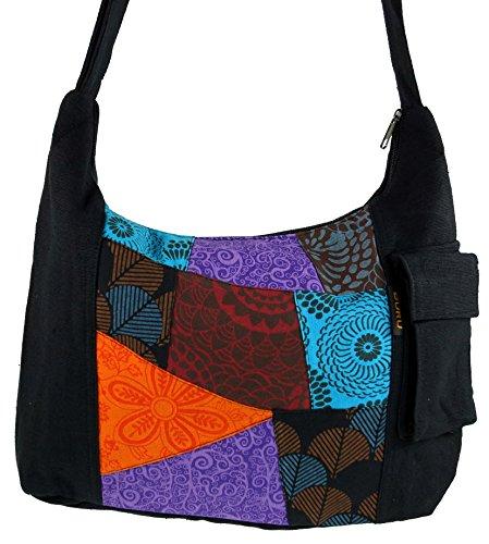Schultertasche, Hippie Patchwork Tasche / Schultertaschen