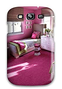 Cute Tpu ZippyDoritEduard Teen Girl8217s Room With Pink Walls 038 Twin Beds Case Cover For Galaxy S3