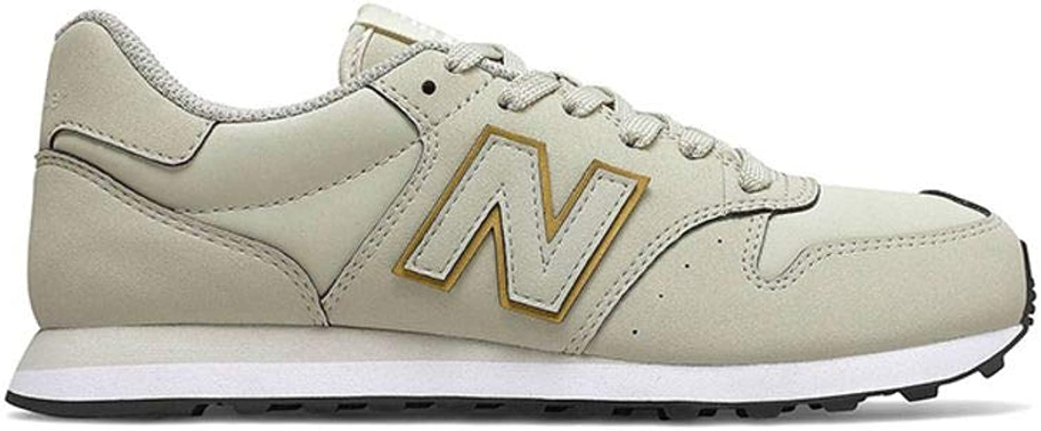 New Balance Damen 500 Sneaker, Schwarz