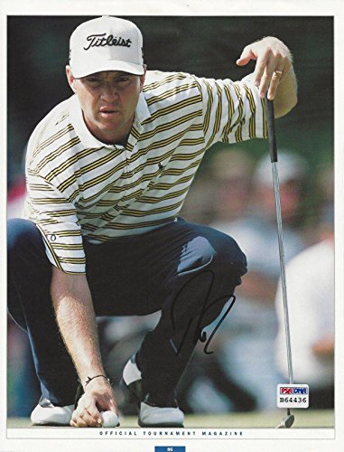 Autographed Love III Picture - 8x10#B64436 - PSA/DNA Certified - Autographed Golf Photos (Photo Golf 8x10 Autograph Certified)