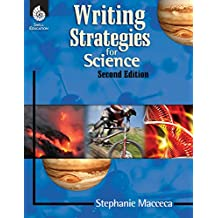Writing Strategies for Science (Writing Strategies for the Content Areas and Fiction)