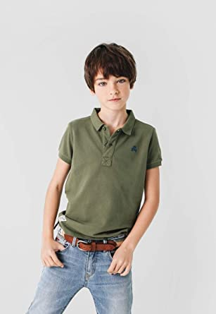 Scalpers Basic Polo Kids - Polo para niños, Talla 10, Color Verde ...