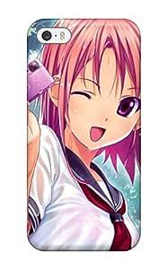 womenheads wet anime purple photo camera Anime Pop Culture Hard Plastic iPhone 5/5s cases 3604813K305124841