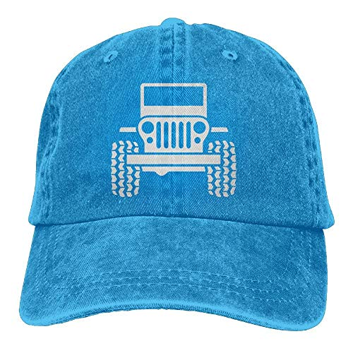 Arsmt Jeep Denim Hat Adjustable Women Funny Baseball Cap