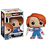 Chucky: Funko POP! Horror Movies x Child's Play Vinyl Figure + 1 FREE Classic Sci-fi & Horror Movies Trading Card Bundle [33624]
