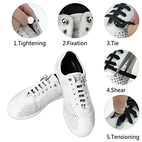 SevenUp No Tie Shoelaces for All Sneakers Runing shoes