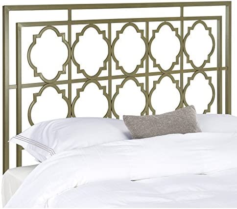 Safavieh Home Collection Silva French Silver Headboard King