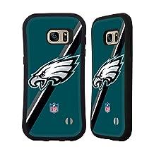 Official NFL Stripes Philadelphia Eagles Logo Hybrid Case for Samsung Galaxy S6 edge+ / Plus