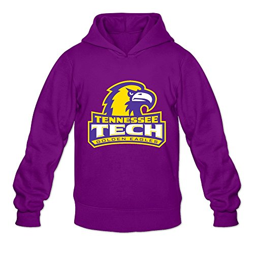 Tennessee Tech Eagles (Tennessee Tech Golden Eagles Ambom Long Sleeve Hoodies For Purple Size M)