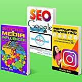 Social Media Influencer - Instagram Marketing - SEO Google: Collection of 3 Books