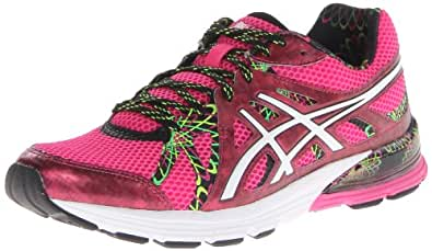 ASICS Women's Gel-Preleus Running Shoe,Hot Pink/White/Hot Pink,5 M US