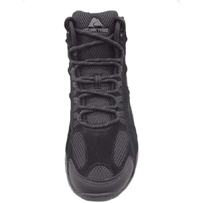 42f19c347ff Ozark Trail Men's Sport Mid Height Hiking Boots, Black (8 US / 26 MEX)