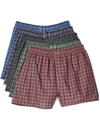 Fruit of the Loom Men's Exposed Waistband Woven Fashion...