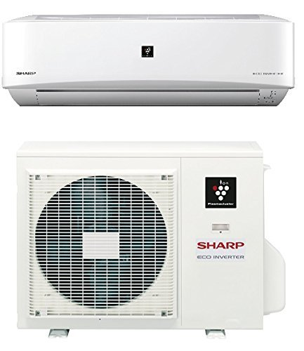 9000 Btu SHARP 22 SEER Ductless Mini Split DC Inverter Air ...