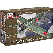 Minicraft A6M2 Zero IJN/IJA Airplane Model Kit (1/144 Scale)