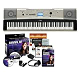 Yamaha YPG-535 88-key Portable Grand Graded-Action USB Keyboard with Yamaha SK88