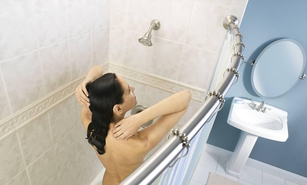 Moen CSR2160BN CSI Curved Shower Rod Brushed Nickel