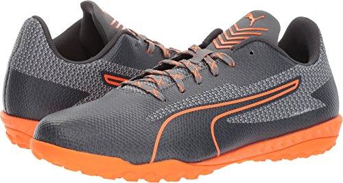 PUMA Men's 365 Ignite ST Soccer Shoe, Quiet Shade-Shocking Orange-Asphalt-Quarry, 10 M US