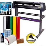 USCutter Vinyl Cutter MH 34in Bundle - Sign Making Kit w/Design & Cut Software, Supplies, Tools