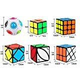 Dreampark Speed Cube Set, 12 Pack Cube Bundle
