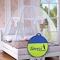 Story@Home Foldable Mosquito Net(King Size/Queen Size Double Bed)