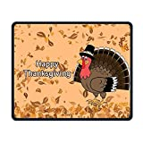 Happy Turkey Smooth Nice Personality Design Mobile Gaming Mouse Pad Work Mouse Pad Office Pad