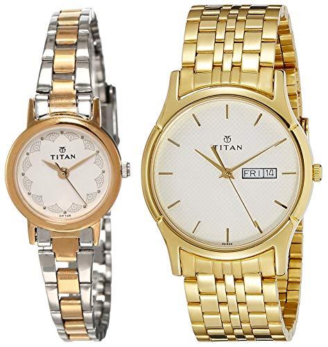 Titan Watches Combo  917BM01,NK1636YM01