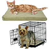 """Brinkmann Cozy Pet Bed For Crate Small 18"""" Pad Dog Cat Pillow Washable Mat Couch"""
