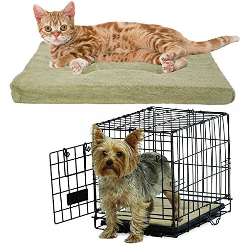 Brinkmann-Cozy-Pet-Bed-For-Crate-Small-18-Pad-Dog-Cat-Pillow-Washable-Mat-Couch