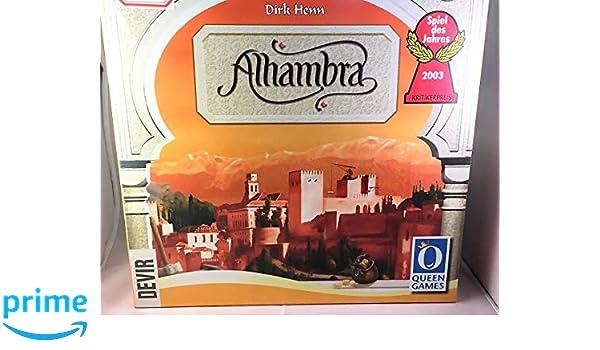 lotedevir Juego de Mesa Alhambra: Amazon.es: Juguetes y juegos