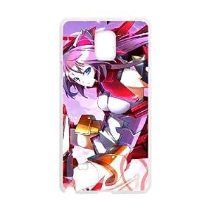 Infinite Stratos Samsung Galaxy Note 4 Cell Phone Case White eyox