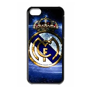 iPhone 5c Cell Phone Case Black Real Madrid WQ7513554