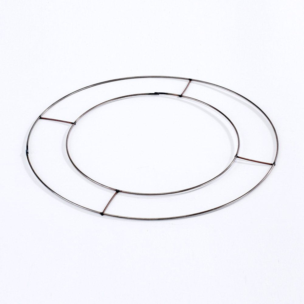 20 x Flat Wire Wreath Rings 12 (30cm) Diameter by Smithers Oasis 95020