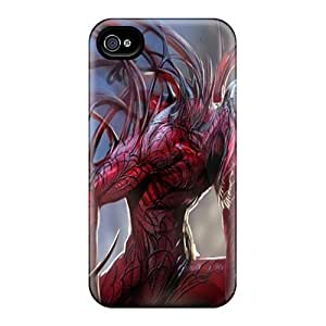 Shock-Absorbing Hard Phone Case For Iphone 6 With Allow Personal Design Lifelike Carnage Series JasonPelletier
