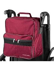 Medipaq Deluxe - Bolsa para silla de ruedas, se fija a las asas para proporcionar